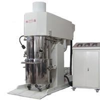 供应100L立式电动双行星动力混合真空搅拌机