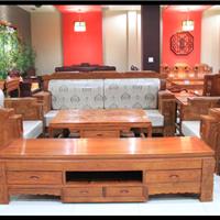 供应横店红木家具厂家大吉祥沙发1 1 3款式
