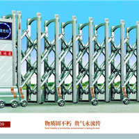 供应南宁电动门,伸缩门红昌科技描述其特点