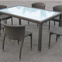 供应康福特可定制的编藤桌椅,咖啡厅桌椅