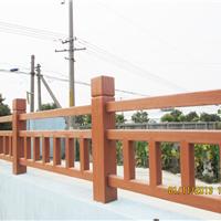 仿木护栏,仿木围栏,仿木桩