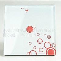 厂家供应各种规格玻璃触摸开关面板