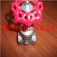 供应DN100 4寸 SUS304 Z15W螺纹闸阀