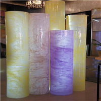 新型透光石,人造透光石材料