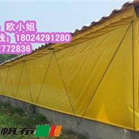 供应广东江门养猪场帆布卷帘厂
