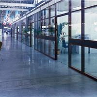 专业隔断厂家供应淮安玻璃高隔间隔断墙铝型材 活动隔断