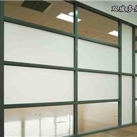 供应盐城办公隔断型材厂家玻璃高隔间百叶帘  活动隔断墙