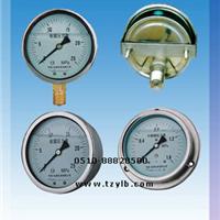 供应带边盘装耐震压力表