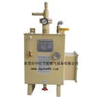 热销东莞中旺壁挂电加热水浴式液化气汽化器
