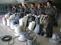 光滑%如镜北京水泥地面打磨公司水泥起沙