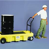 供应化工原料桶盛漏手推车 防漏油桶搬运车