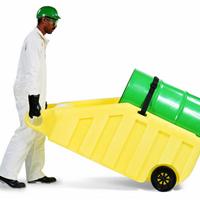 供应油桶搬运和分装两用车 化学品桶搬运车
