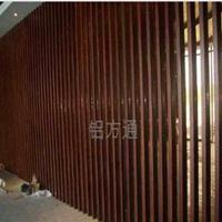 木纹色四方管铝方通幕墙厂家、价格、规格
