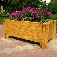 花盆,花箱,仿木制品,景观小品