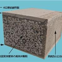硅酸钙板面夹水泥泡沫粒隔墙板