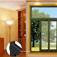 供应简约大方铝包木门窗 天津铝木门窗