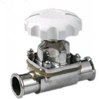 供应卫生级隔膜阀 不锈钢快装隔膜阀