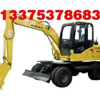 进口配置轮式挖掘机 DLS865挖掘机 小挖机