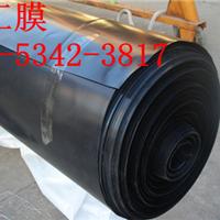 供应黑色聚乙烯土工膜价格0.5毫米