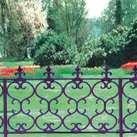 供应各种绿化围栏 园林护栏 草坪护栏