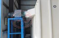 供应单\ 双工位喷粉房 工业水濂柜