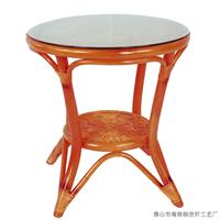 绿欣轩 转椅藤椅茶几三件套 阳台休闲椅9001