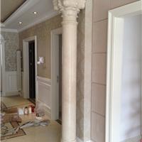 供应大理石装饰柱,定制抛光石材罗马柱