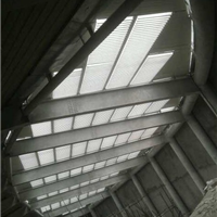 供应中空平板百叶铝合金百叶窗