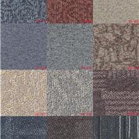 供应片材塑胶地板PVC地板地毯纹系列一