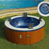 招商蒙娜丽莎卫浴户外圆形按摩浴缸冲浪浴缸时尚保健浴缸批发