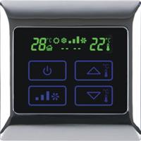 供应三级风量调节 风机盘管触摸温屏温控器