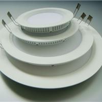 供应LED平板灯外壳 开孔130圆形面板灯