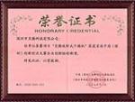 荣誉证书(创新奖)