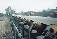 供应水泥厂专项使用皮带输送机