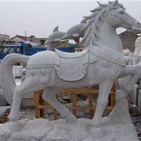 马踏飞燕石雕骏马驷马聚首石雕动物