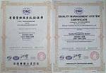 ISO 9001 质量体系认证