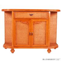 成都藤家具厂价直销欧式实木餐边柜3003