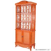 贵阳藤家具厂价直销古典餐厅酒吧酒柜3001
