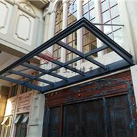 供应钢结构玻璃雨棚/钢结构门头雨篷