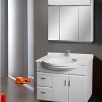 供应中高档浴室柜、玉石台面、三门镜