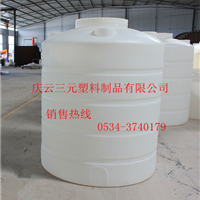 供应河南5T塑料桶5吨塑料储罐5立方盐酸储罐