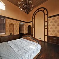 帝图硅藻泥欧式卧室