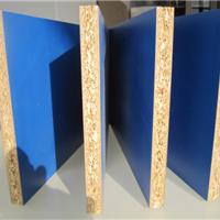 供应16mm E1 双贴宝石蓝刨花板