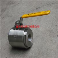 Q11F-160P/C 304/A105高压两段式内螺纹球阀