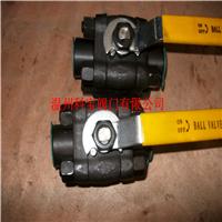 1/2寸 Q61F-1500LB 锻钢高压美标焊接球阀