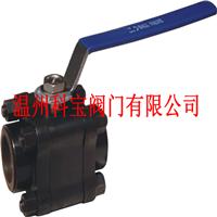 Q61F-800LB A105 高压承插焊接三片式球阀