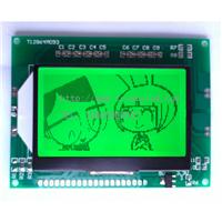 供应考勤机专用12864单色LCD液晶显示模组