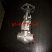 Z61H-1500LB SS304锻钢高压承插焊接闸阀