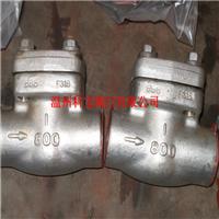H11H-800LB A105N/SS304 焊接高压止回阀