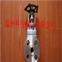 1寸 Z41W-64P/C A105N高压锻钢手动法兰闸阀